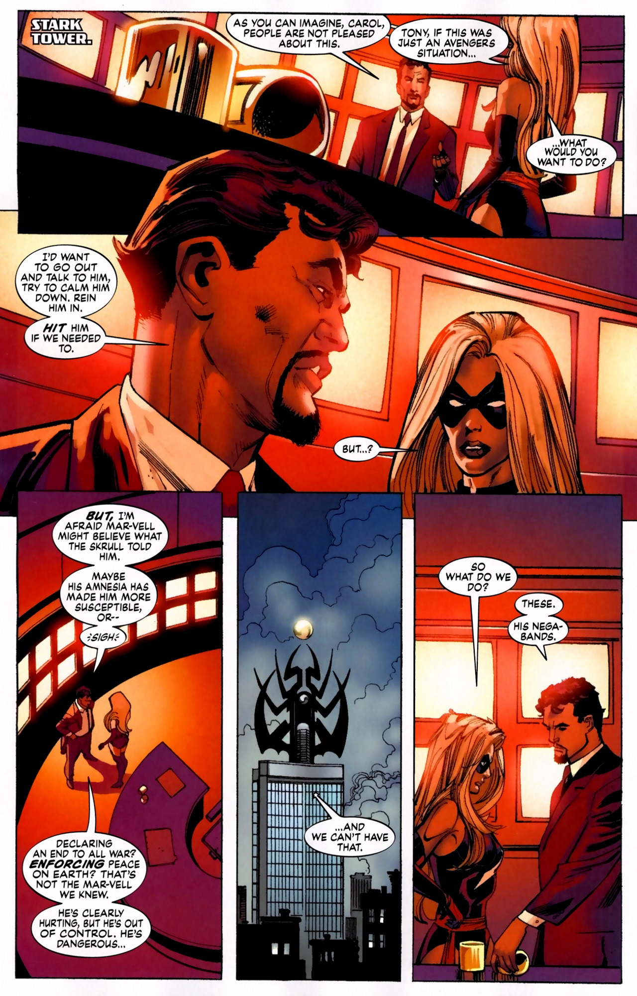 Read online Secret Invasion: The Infiltration comic -  Issue #5 - 19