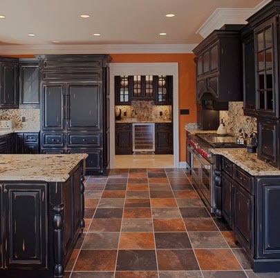 Dise os y tipos de pisos para cocina para que elijas el - Como disenar una cocina rustica ...