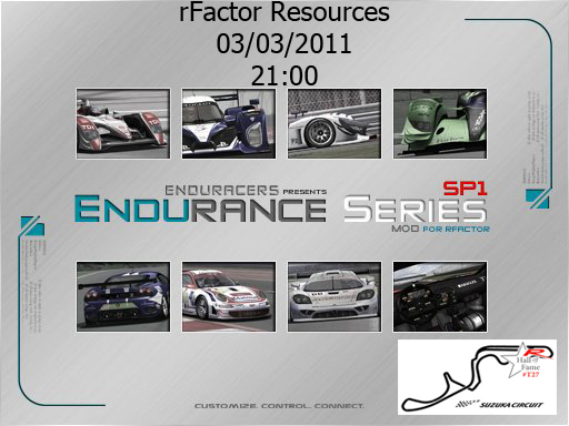 rFactor Enduracers Series Evento