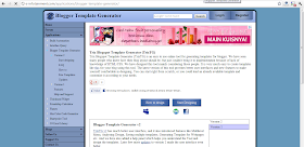 Trix Blogspot Template Generator