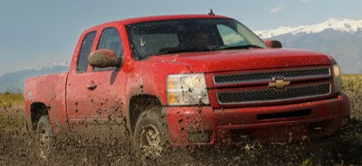 2013 Chevrolet Silverado extended cab 4x4 Z71 victory red