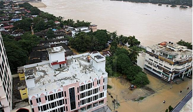 banjir buruk di kelantan 2014
