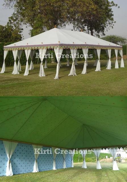 Classic Maharaja Tent
