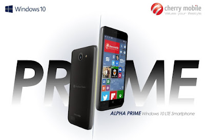 Cherry Mobile Alpha Prime Announced, Windows 10 with LTE Connectivity