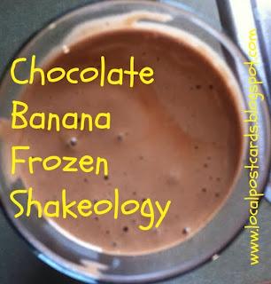 Chocolate Shakeology recipe