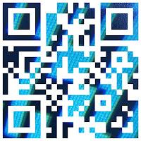 QR-Code Blue (Image Mask)