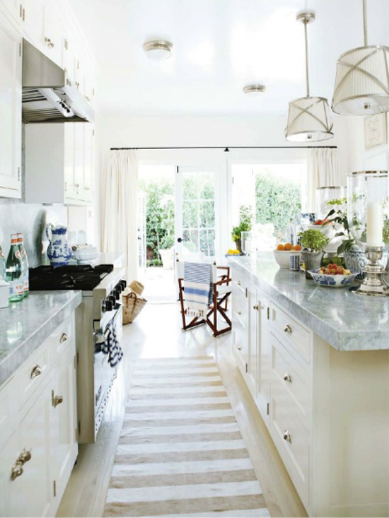 Coastal style hamptons style kitchen makeover for Design makeover