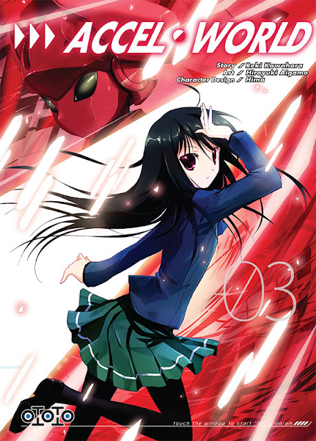 Accel World, Actu Manga, Manga, Ototo, Reki Kawahara, Shonen, Sword Art Online, Sword Art Online II : Bullet Phantom,