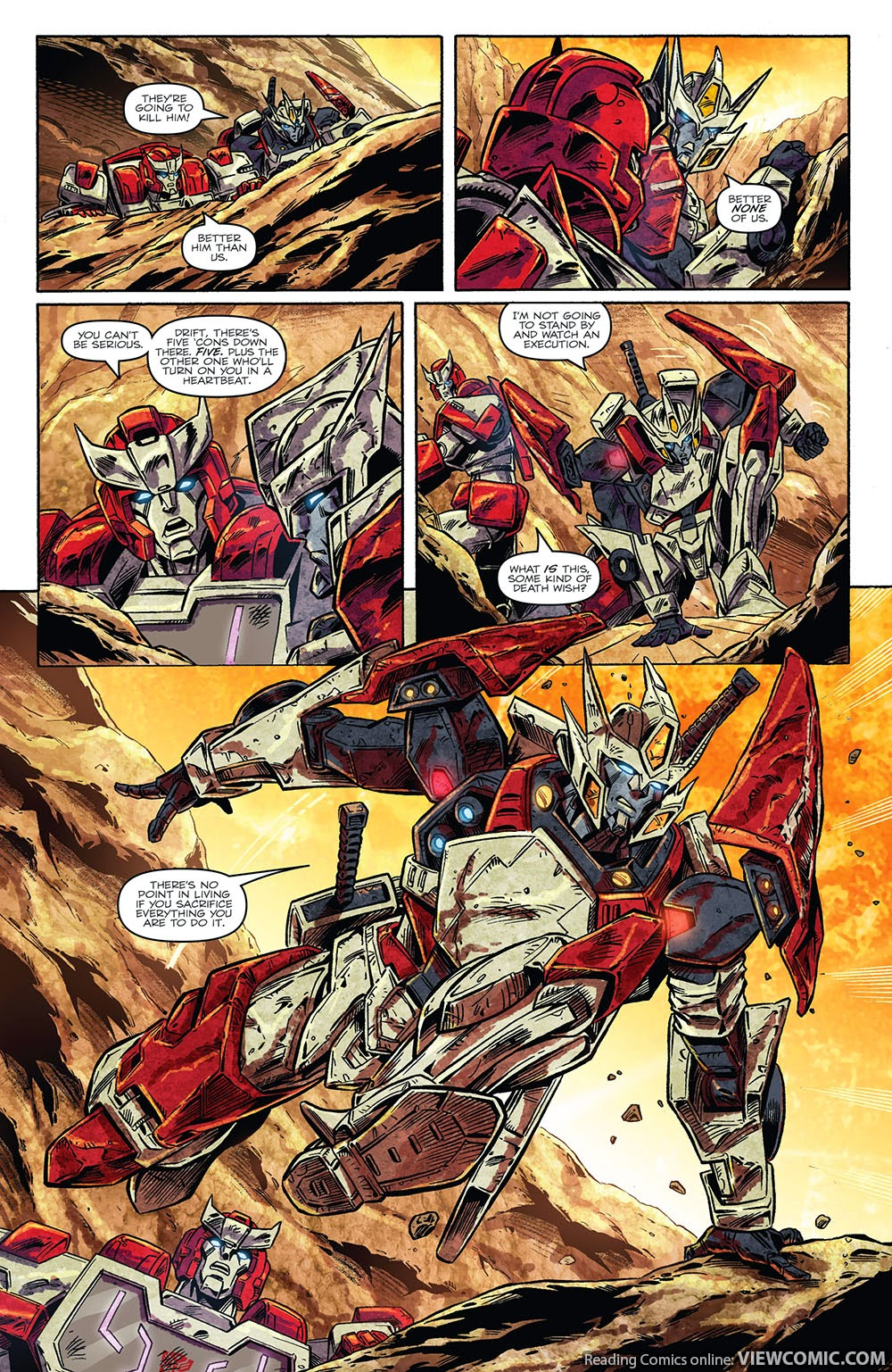 the transformers drift empire of stone 01 2014 viewcomic