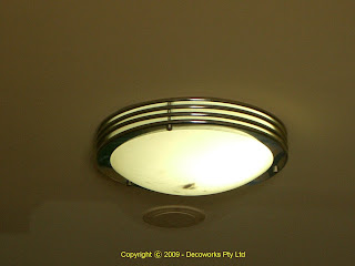 Salisbury hotel ceiling light