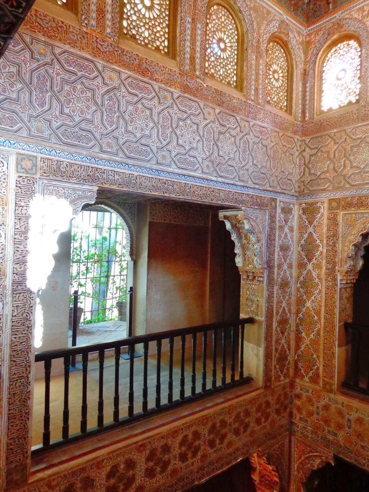 Espacio del mes ba o real de la alhambra o dar al mulk - Banos arabes palacio de comares ...