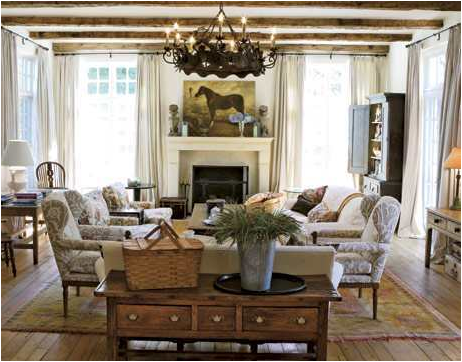 Home Design Interior Monnie: English Country Living Room Design Ideas
