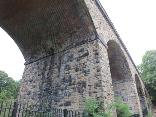Stone Railway Viaduct, Bollington Cheshire