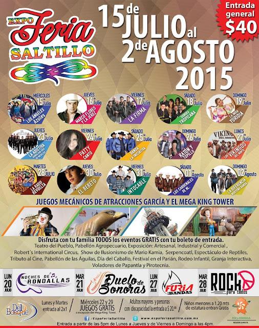 teatro del pueblo feria saltillo 2015