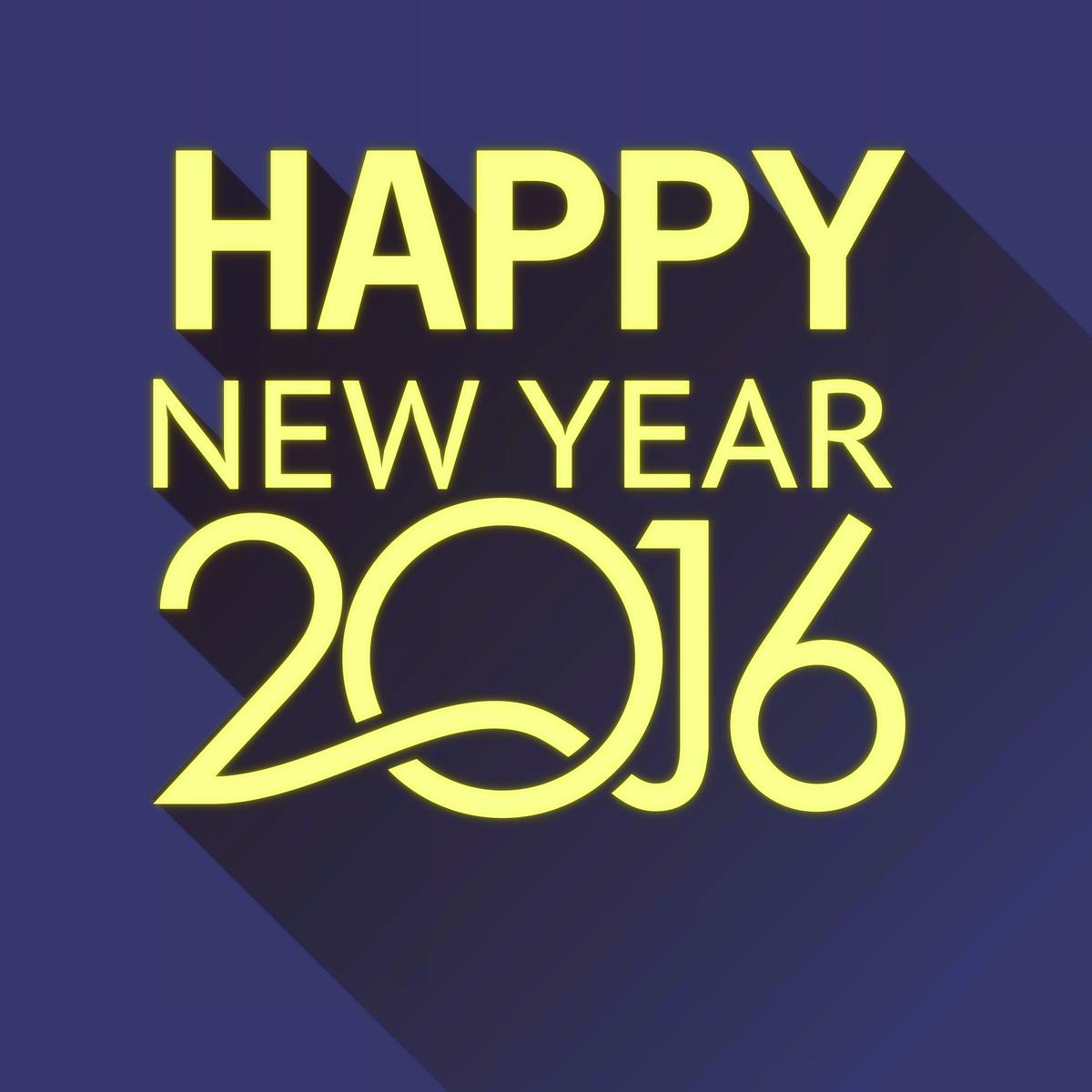 Gambar Ucapan Tahun Baru 2016 Terbaik Dan Terbaru Gudang Gambar