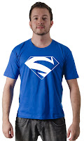 Camiseta Superman Electric Blue