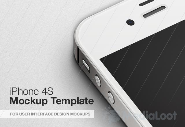 Editable iPhone Mock-up