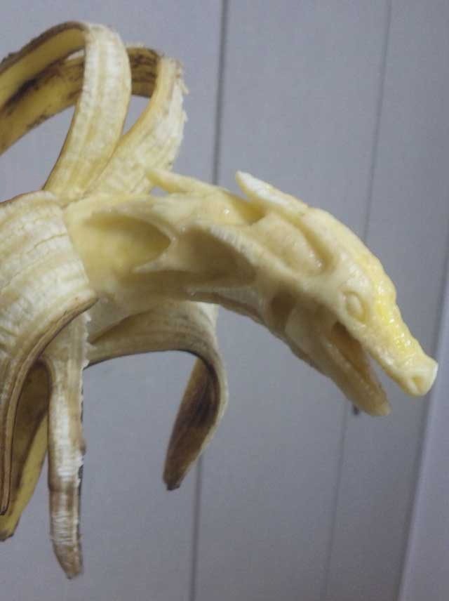 banana dragon