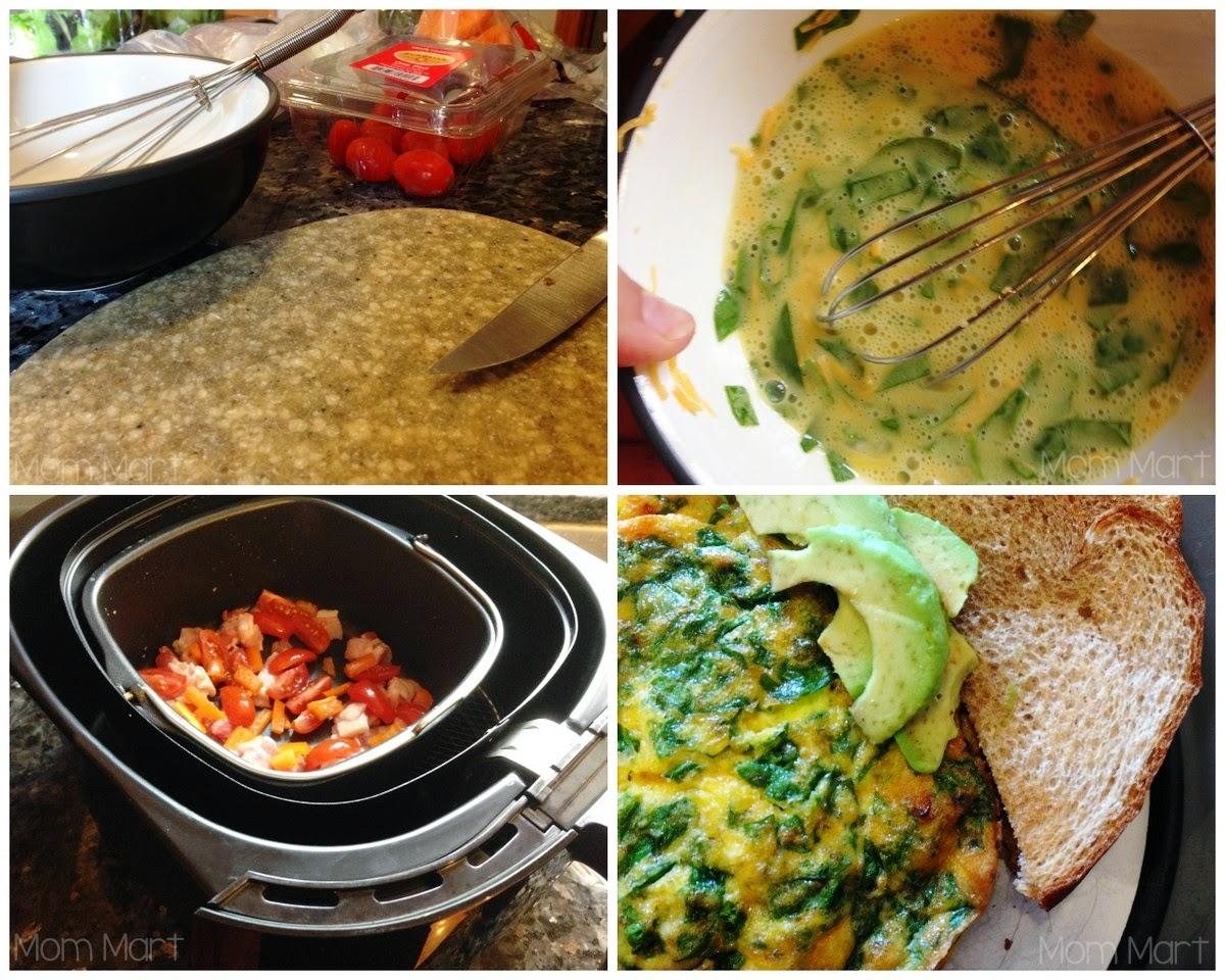 Breakfast Frittata #Recipe: Philips Airfryer Recipe