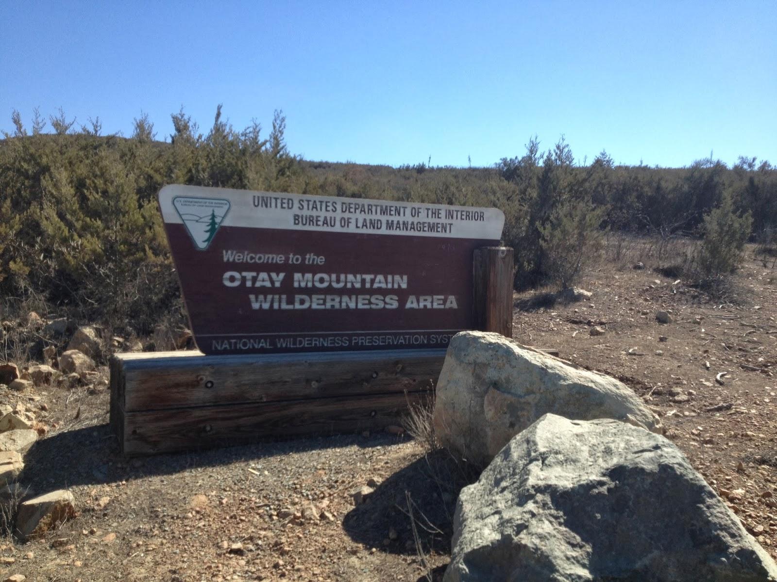 Otay Mountain Truck Trail Otay Truck Trail Today