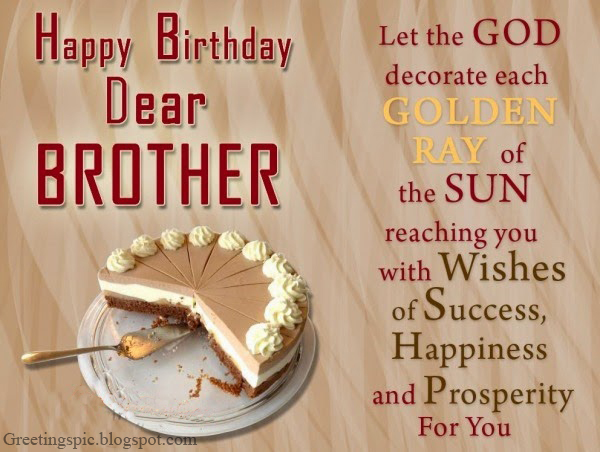 Birthday wishes quotes... Happy Birthday Quotes For Younger Brother