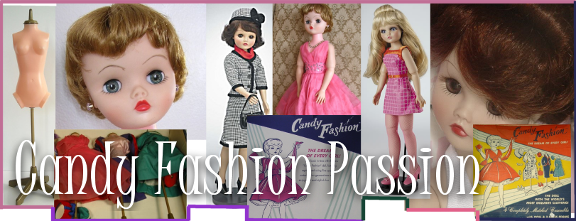 Candy Fashion Doll 1960's Candy Fashion Passion