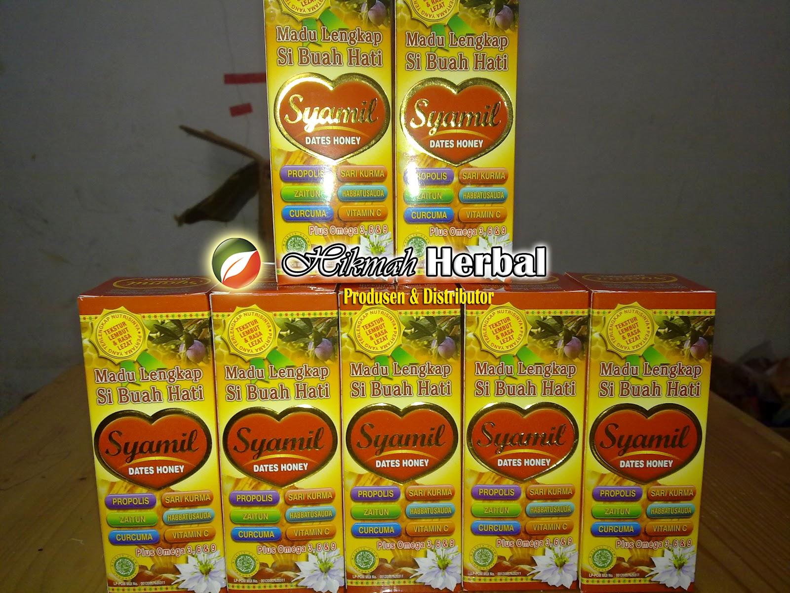 Hikmah Herbal Agency Madu Syamil Lengkap Si Buah Hati Dates Honey
