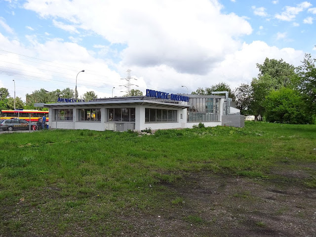 Dworzec Warszawa Zachodnia przy ulicy Tunelowej