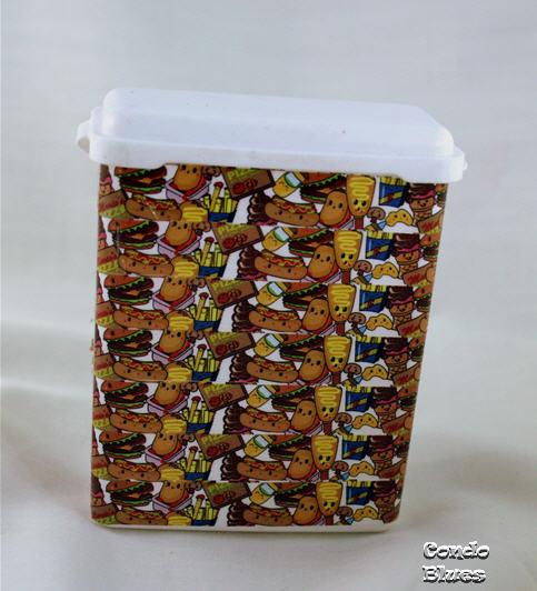 Condo BluesWashi Tape Dog Treat Box