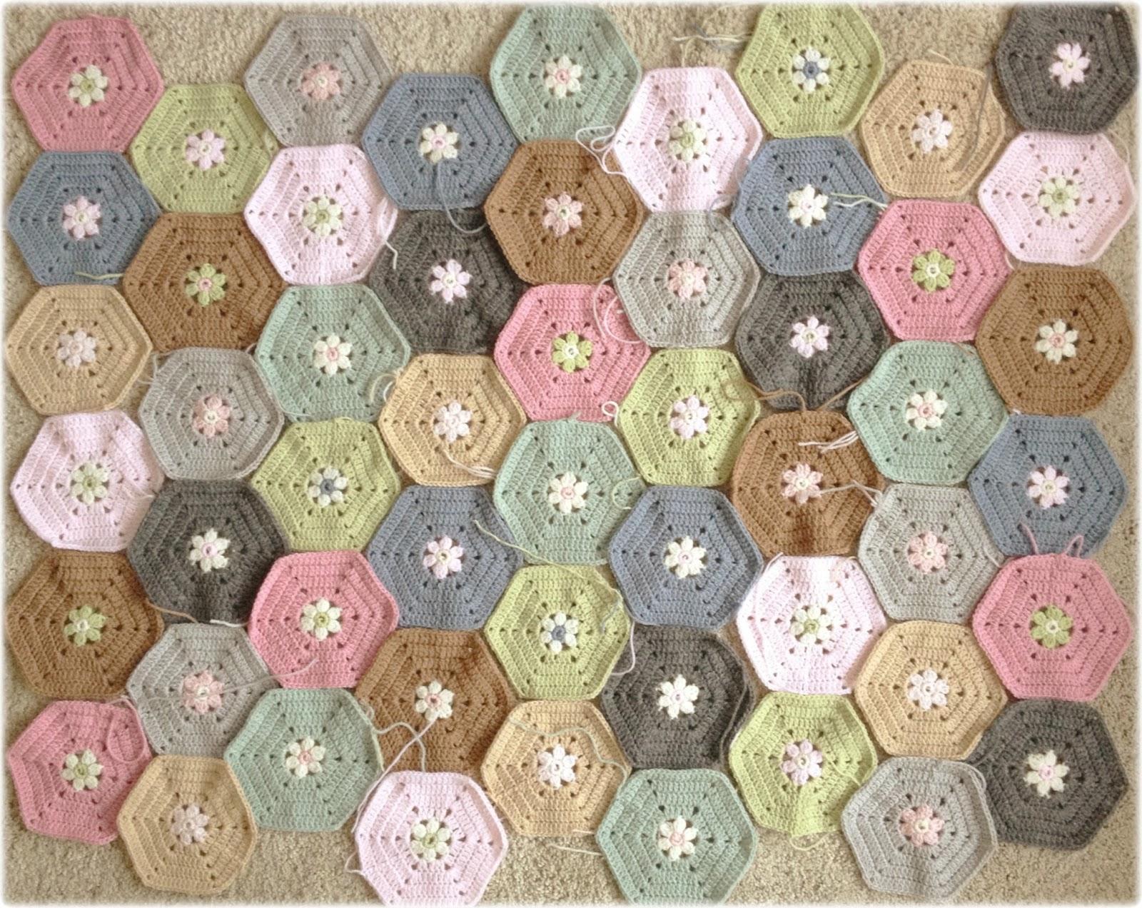 钩花毯子 - 柳芯飘雪 - 柳芯飘雪的博客