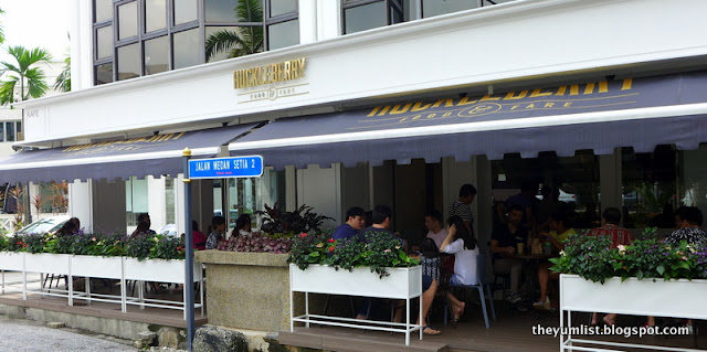 Huckleberry, Food and Fare, Damansara, Kuala Lumpur