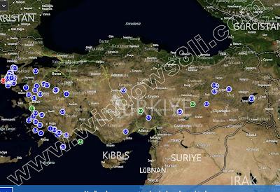 Deprem Haritası