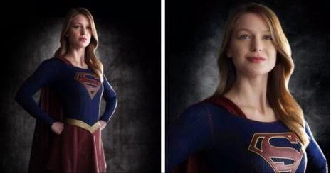 THE NEW SUPERGIRL Melissa Benoist World News