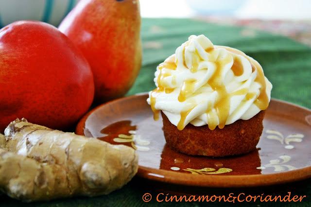 Ginger-Pear-Cupcake-Salted-Caramel