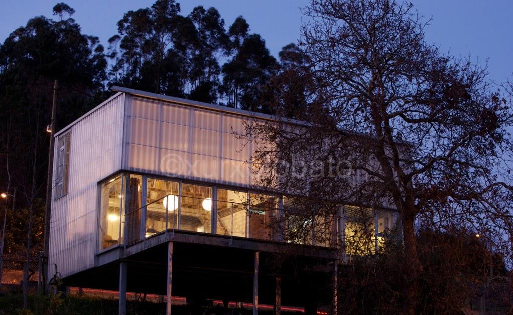 Galicia cool magazine vivienda unifamiliar en sanxenxo for Coste construccion vivienda unifamiliar