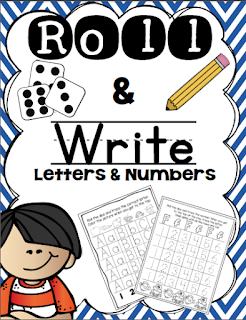https://www.teacherspayteachers.com/Product/Roll-Write-Numbers-and-ABCs-312097