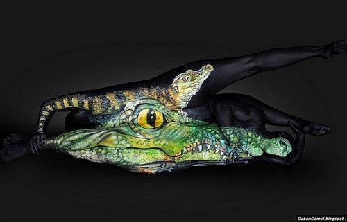Gambar Body Painting