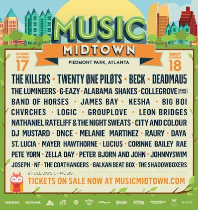 Music Midtown - 2016 - Atlanta, GA