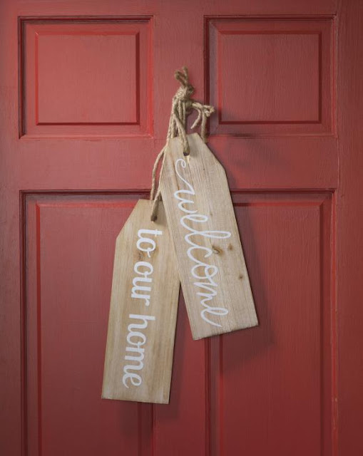 Large Wood Tags @craftsavy #craftwarehouse, #woodtag, #Diy, #homedecor