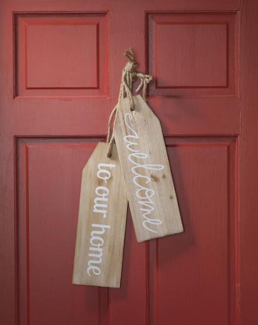 Large Wood Tags @craftsavy #craftwarehouse, #woodtag, #Diy, #homedecor