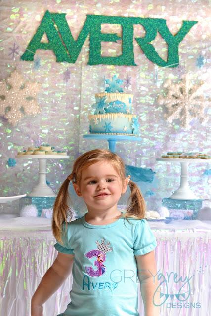 #frozenparty #frozen #letitgo #princessparty #greygreydesigns