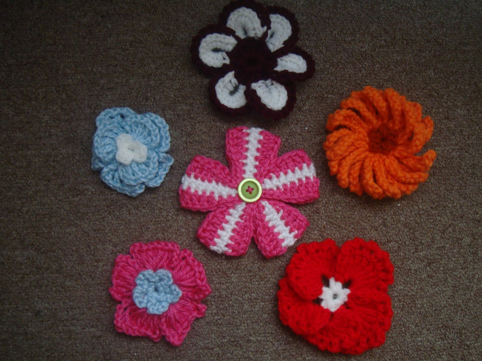 Crochet Crazy Mama April Showers Brings May Flowers