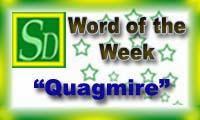 Word of the week - Quagmire