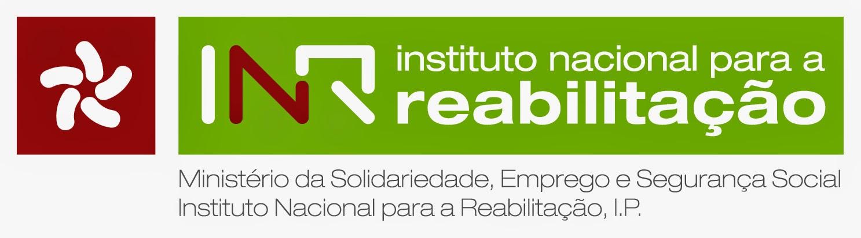 Logótipo do Instituto Nacional para a Reabilitação, I.P.
