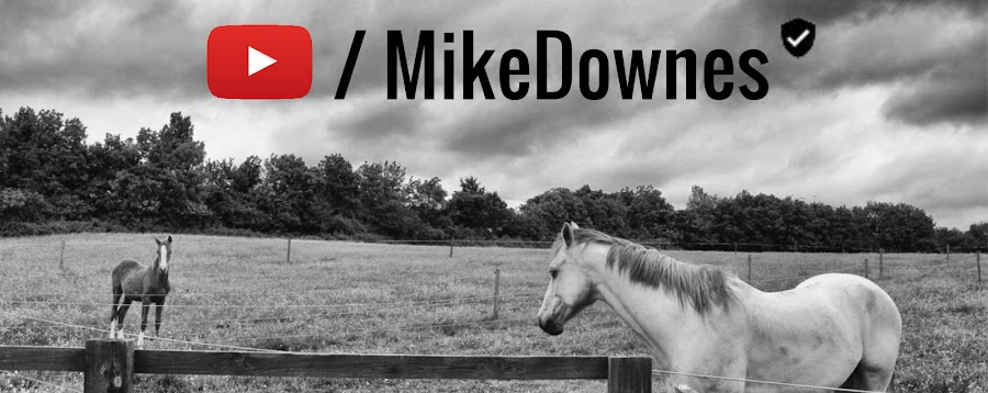 I'm mike downes and welcome to my blog, think of it as one big page