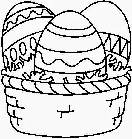 Dibujos de Pascua para Colorear, parte 2