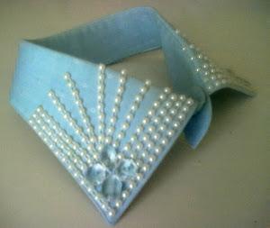 DIY- İncili Gömlek Yakası /Collar