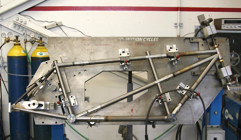 construction of utility bike the prototype