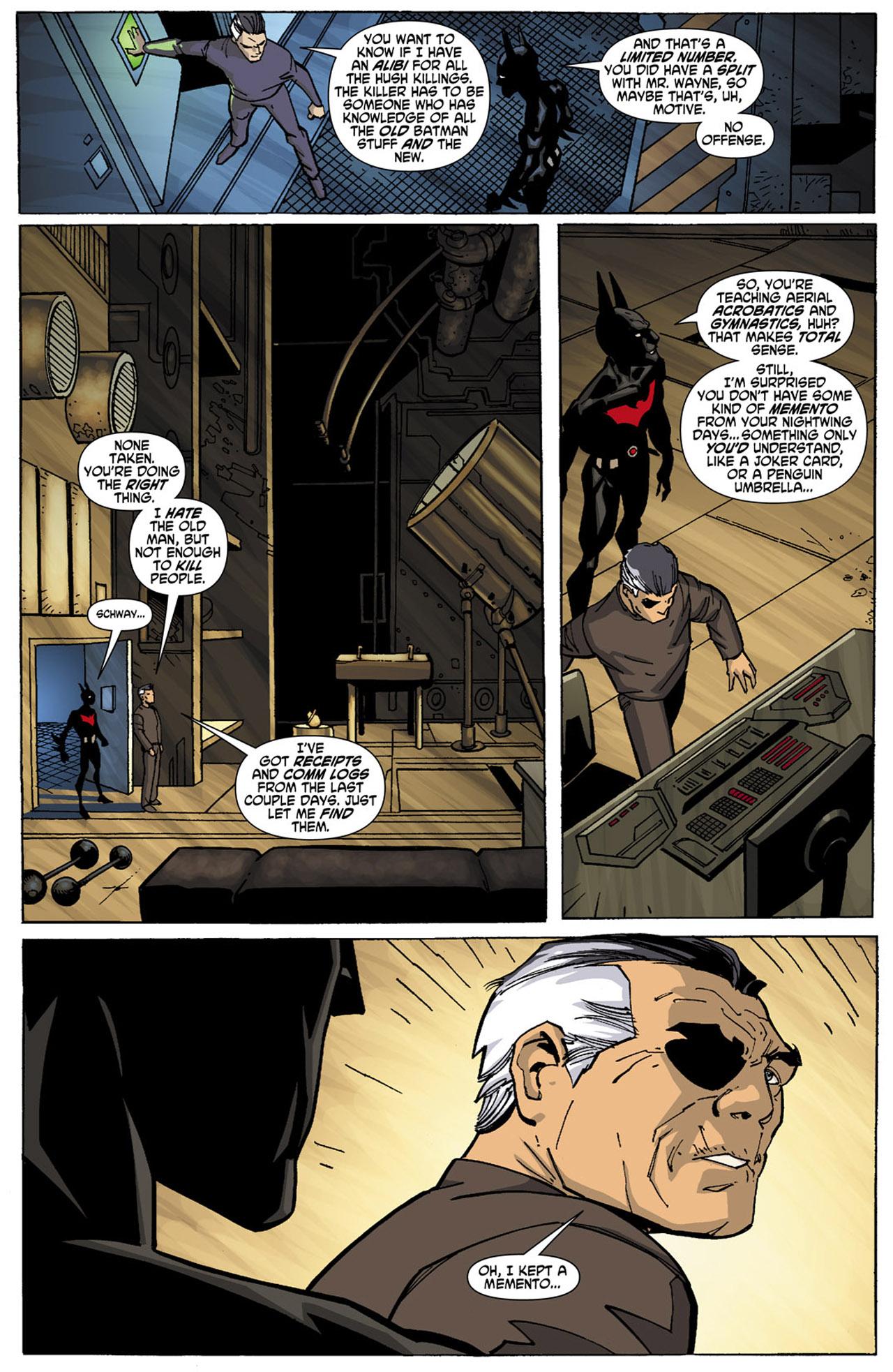 Batman Beyond (2010) Issue #4 #4 - English 9