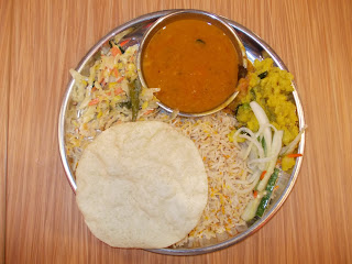 Vegetarian Briyani Set, S$ 5.00